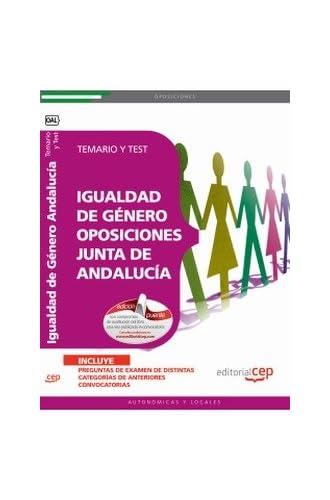 Temario Y Test Igualdad De Género Oposiciones Junta De Andalucía