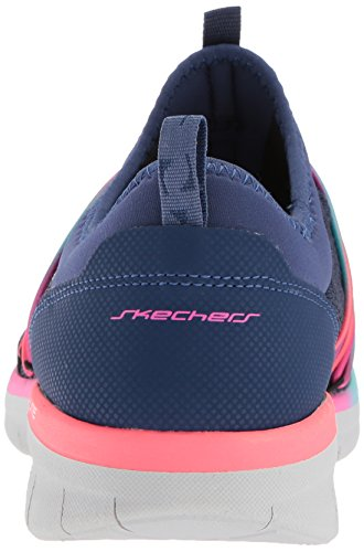 Skechers Synergy 2.0-Simply Chic, Zapatillas Sin Cordones Para Mujer Navy/Multi