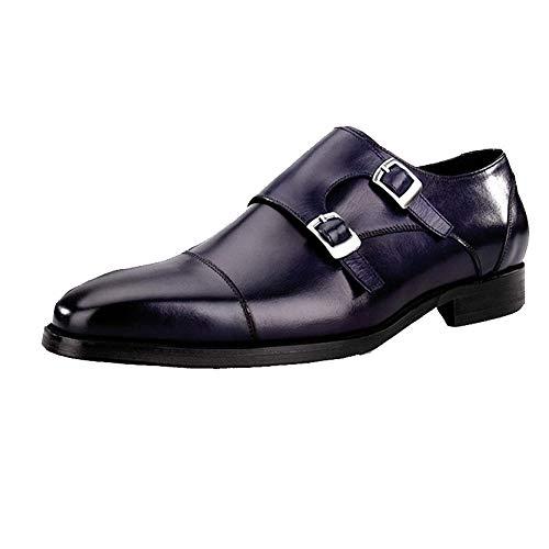 Hombres Boda Moda Zapatos Zapatos Blue Los De Casuales De De Zapatos qYwFtg