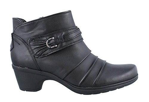 Earth Origins Ronnie Womens Leather Comfort , Black, Size - 10 (Earth Leather)