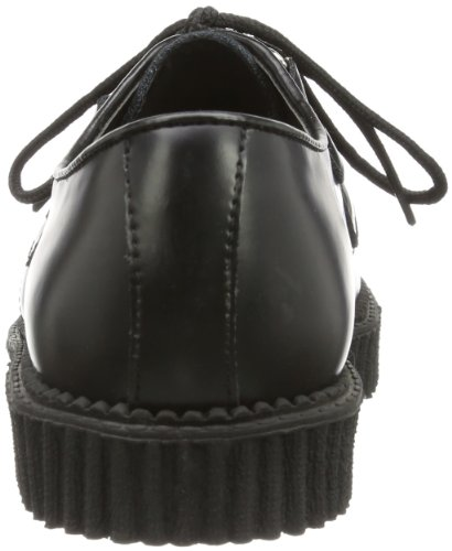B Creeper 602 Men's Pleaser Black Leather q10Pvxw