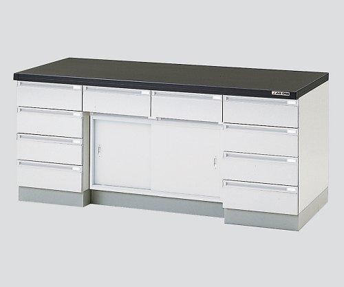 アズワン3-5830-33サイド実験台木製タイプ引戸タイプ3000×750×800 B07BD31GKK