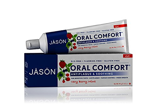 Jason Oral Comfort Soothing Tooth Gel, 4.2 Ounce
