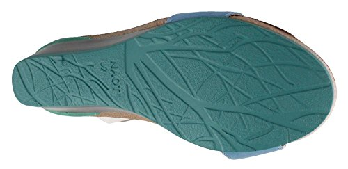Heel Sandals Blue Pixie Women's Naot Mid Az1x7wtRq