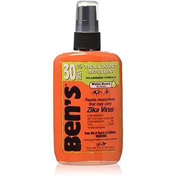 Ben's 30% Deet Insect Repellent Spray, 3.4 oz (Pack of 3)