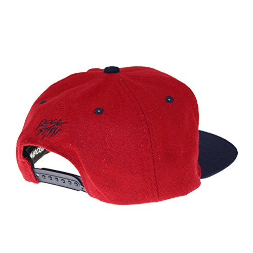 rojo Talla de Gorra Rocksmith rojo béisbol para hombre única xwXFwHn01