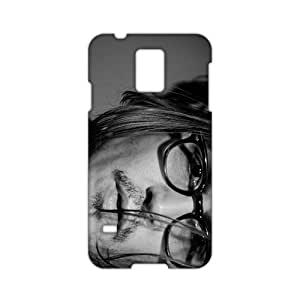 johnny depp black and white portrait 3D Phone Case and Cover for Samsung?Galaxy?s 5?Case