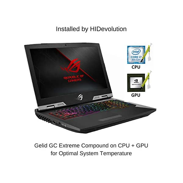HIDevolution-ASUS-ROG-G703GI-173-UHD-G-Sync-Gaming-Laptop-29-GHz-i9-8950HK-GTX-1080-32GB-DDR42666MHz-RAM-PCIe-2TB-SSD-4TB-SSD-Authorized-Performance-Upgrades-Warranty