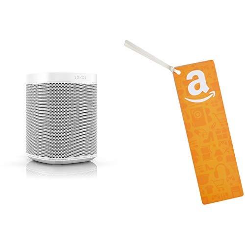 Sonos One (Gen 2) with Amazon Alexa (White) w/$50 gift card
