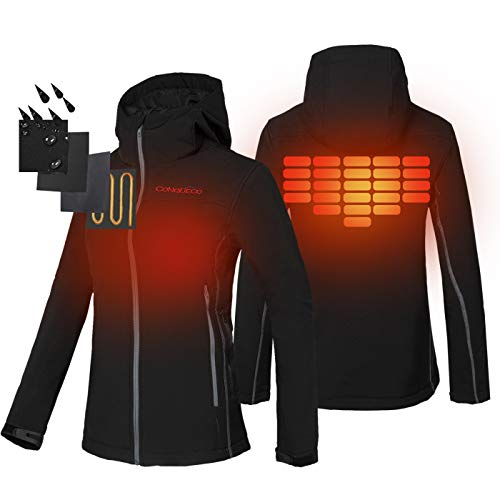 women battery heated jacket - 4