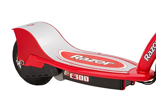 Razor E300 24V Rechargeable Electric Motorized Red Scooter + V17 Youth Helmet by Razor (Image #4)