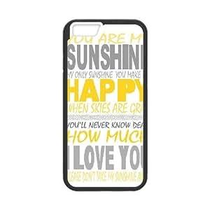 "WEUKK you are my sunshine iPhone6 Plus 5.5"" phone case, diy cover case for iPhone6 Plus 5.5"" you are my sunshine, diy you are my sunshine cell phone case"