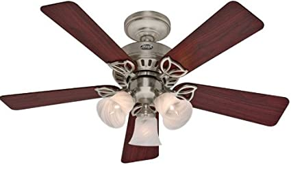 Hunter 20431 beacon hill three light 42 inch five blade ceiling fan hunter 20431 beacon hill three light 42 inch five blade ceiling fan mozeypictures Gallery