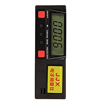 Alloet New 360°Digital Protractor Inclinometer Angle Meter with Magnetic Base