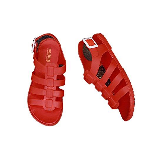 St.Roma - Sandalias de vestir de Caucho para mujer Red