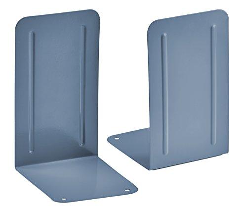 Acrimet Premium Bookends Blue Pair