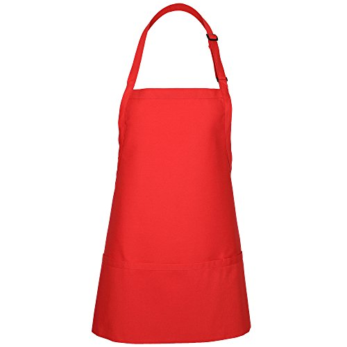 Red Bib Apron - 1