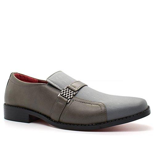 London Footwear - Sandalias con cuña hombre gris