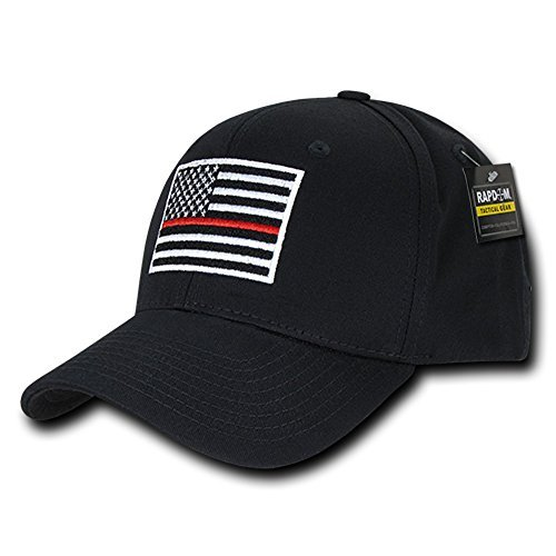 RAPDOM Tactical USA Embroidered Operator Cap - Black TRL