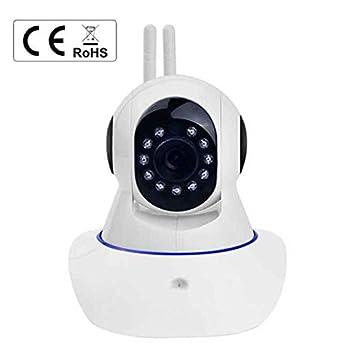 Cámara de Seguridad Wifi EC Technology detecta movimiento-sonido 720P Cámara IP Bebé Todas funciones