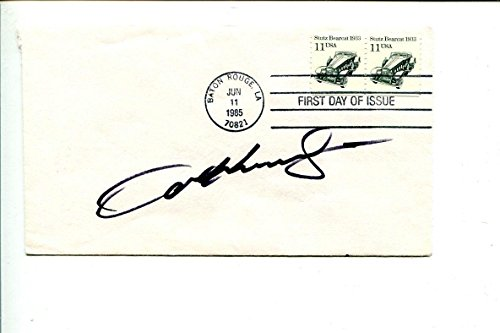- Sam Hornish Jr Indy 500 Winner Race Car Driver Signed Autograph FDC - NASCAR Cut Signatures