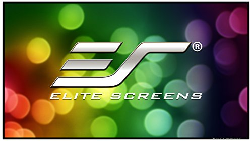 Elite Screens ezFrame Series, 135-inch Diagonal 16:9, Sound Transparent Perforated Weave AcousticPro1080P3 Fixed Frame Projection Screen, R135WH1-A1080P58