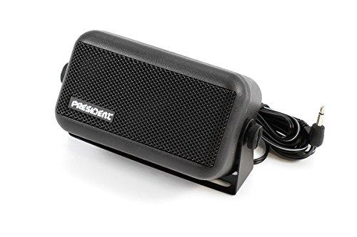 Président 70047 Externe luidspreker HP-2 voor CB-radio, Zwart
