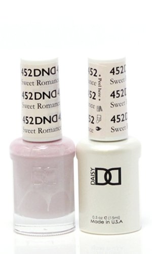 DND *Duo Gel* (Gel & Matching Polish) Spring Set 452 - Sweet - Gel Romance