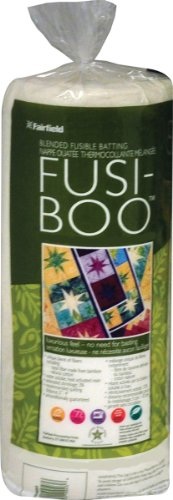 - Fairfield Fusi-Boo Bamboo Fusible Batting-36 by 45-Inch FOB:MI