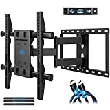 Mounting Dream Full Motion TV Wall Mount Bracket, Fits Most of 26-55 Inches LED, LCD and Plasma TV, Mount with Articulating Arm, 78 LBS Loading Capacity, Max 400 x 400mm VESA, MD2295-M