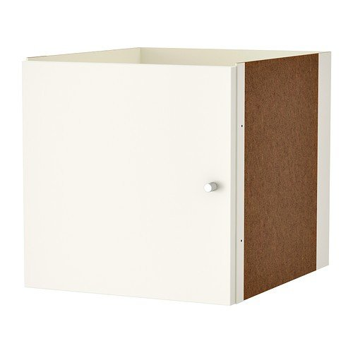 IKEA KALLAX - Insert with door, white - 33x33 cm by Ikea