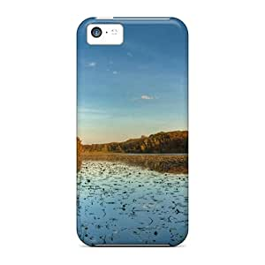 Cases Covers For Iphone 5c Strong Protect Cases - Autumn On The River Design