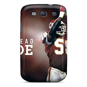 DrawsBriscoe Samsung Galaxy S3 Bumper Hard Phone Cases Allow Personal Design Stylish Kansas City Chiefs Pictures [xgm14307GgQP]