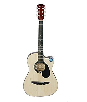Jixing acoustic guitar DD 380C, NATURAL Acoustic Steel String Guitars