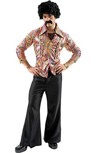 70s Costumes: Disco Costumes, Hippie Outfits Mens Disco Fancy Dress Costume Extra Large £29.26 AT vintagedancer.com