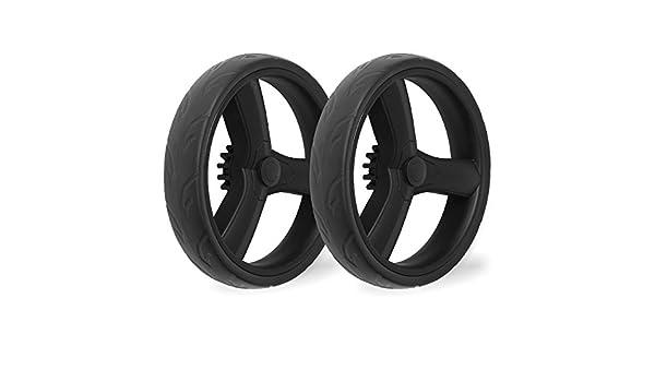 2 x rueda trasera para Magica Froggy Original detrás de ruedas de plástico para ruedas Carrito ruedas - Rueda cochecito cochecito Combi: Amazon.es: Bebé