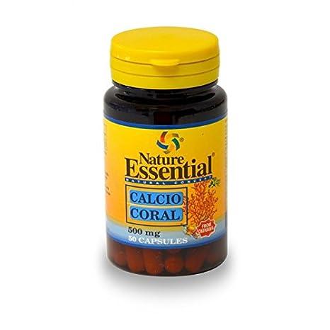 Nature Essential Calcio Coral 500mg - 50 Cápsulas: Amazon.es: Salud y cuidado personal