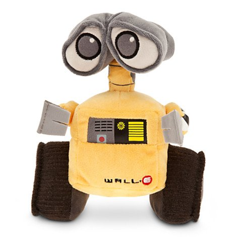 Toy 7' Plush Stuffed (Disney Pixar Wall-E Movie Exclusive 7 Inch Mini Bean Plush WALL-E)