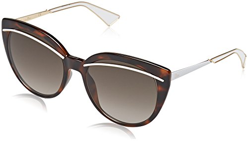 Christian Dior Diorliner Sunglasses Havana Rose Gold / Brown - Glass Christian Dior
