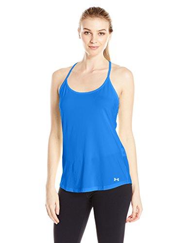 Under Armour Fly By Racerback Women's Correr Camiseta De Tirantes - SS17 Azul