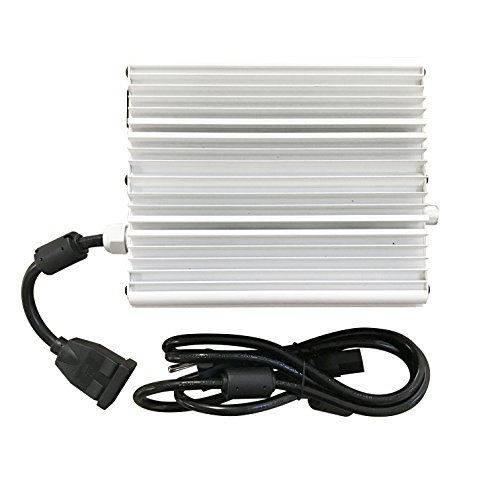 120V to 240V HPS MH Digital Dimmable Double Ended Ballast for Indoor Hydroponic Plant Grow Light (DE 1000W) (Hps 120v Ballast)