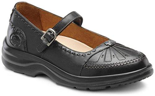 Dr. Comfort Paradise Women's Therapeutic Diabetic Extra Depth Shoe: Black 9 Wide (C-D) Velcro by Dr. Comfort