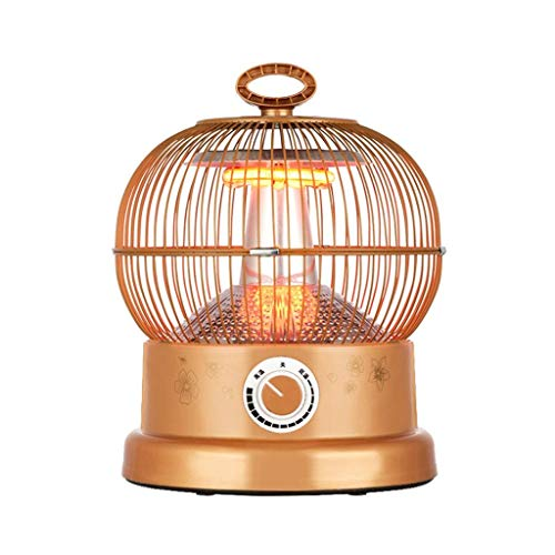 ZBJJ Calefactor MINI Calentadores halógenos, ventilador de la máquina del calentador del radiador de la estufa de la...