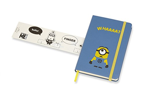 Moleskine Limited Edition Minions Notebook Pocket Ruled B29 Blue (8055002855372)