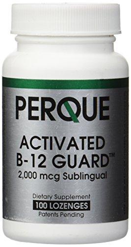 Perque Activated B-12 Guard (2000 mcg, 100 lozenges)