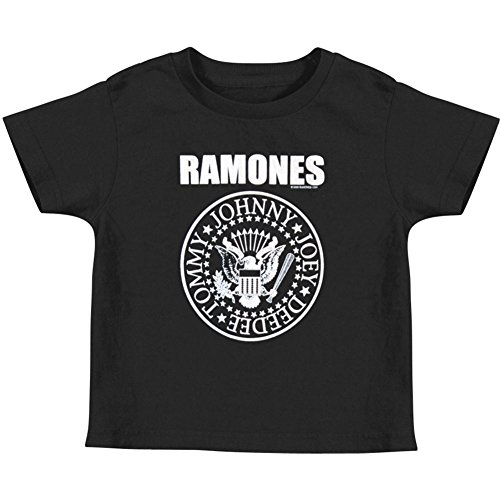 Ramones Little Boys' Seal Toddler Tee Childrens T-shirt 3T Black