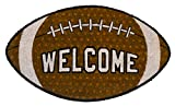 Briarwood Lane Football Coir Doormat Fall Welcome Natural Fiber Outdoor 18'x30'