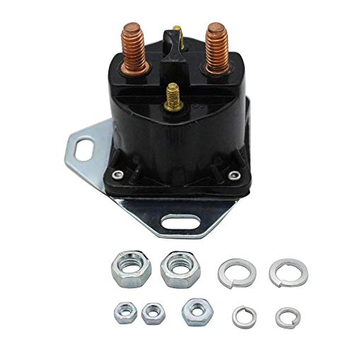 Magnetic Switch Compatible with Ford Diesel Glow Plug Relay Solenoid 6.9 7.3 Turbo & Non F Series E Series Switch (Black) ()