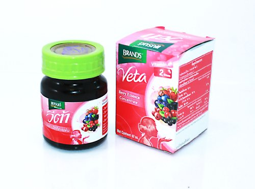 Health drink Brand's Veta berry Essence concentrate mix 42 ml. 2 boxes (12 bottle/boxes)