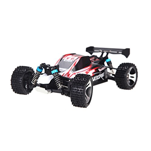 Wltoys A959 Rc Car 1/18 2.4Gh 4WD Off-Road Buggy